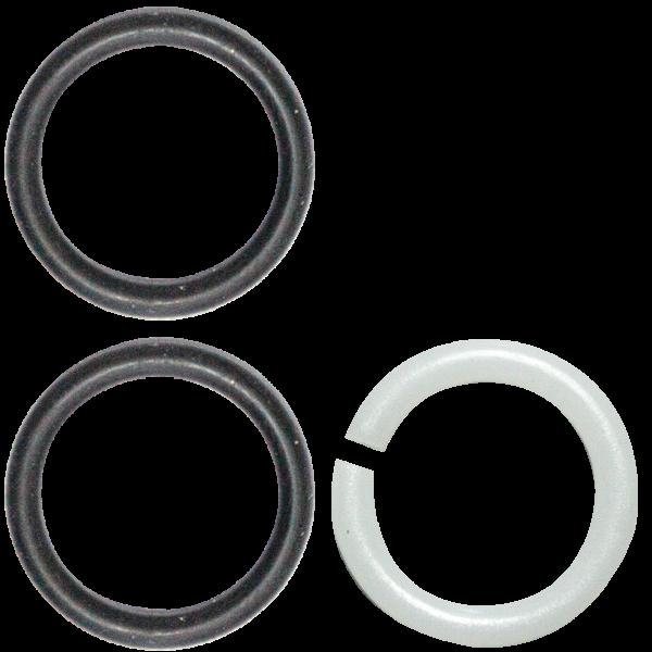 O-Ring + Gleitring-Set zu Auslaeufe Ø 18 mm